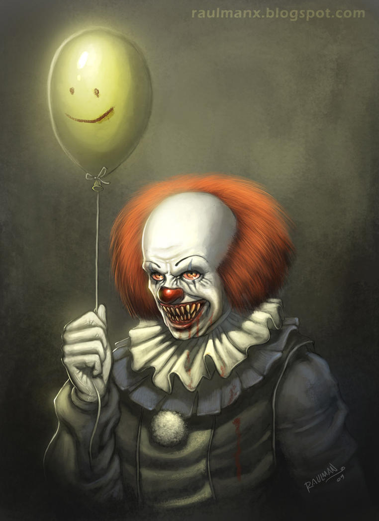 pennywise by raulman