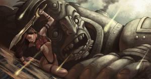 Fallen God by raulman