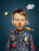 Thom Yorke by raulman