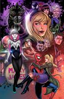 Spider Gwen by raulman