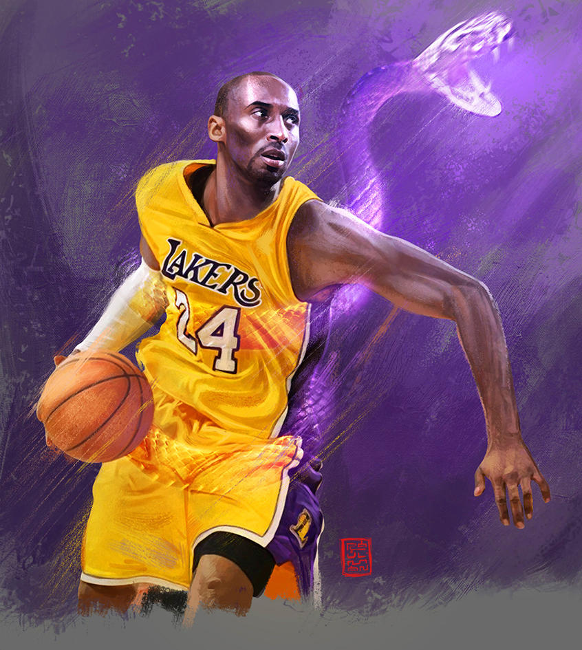 Kobe the black mamba by raulman