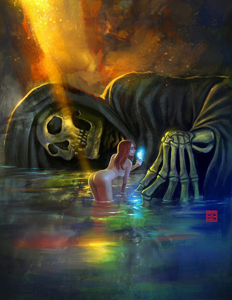 In the ocean of time by raulman