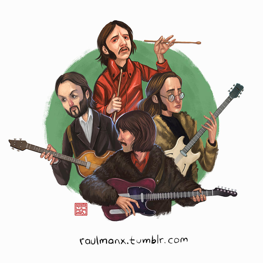The Beatles by raulman