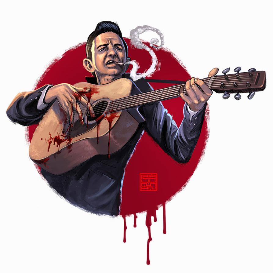 Johnny Cash by raulman