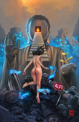 Insatiable Deity by raulman