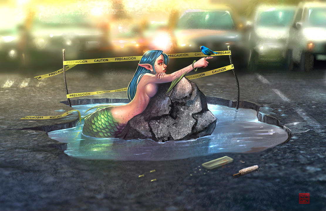 Mermaid by raulman