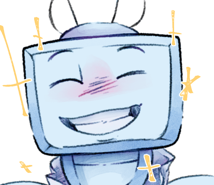 Gift: TV Smile by Lionbarrel