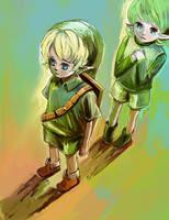 The Legend of Zelda by jankjabberwock
