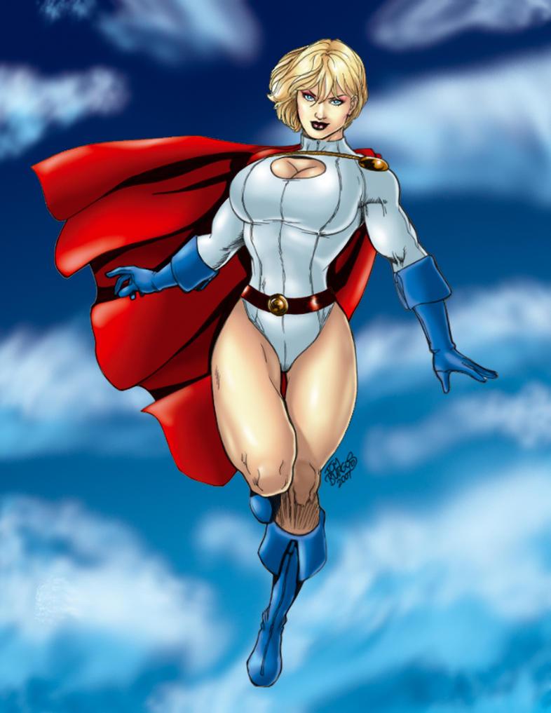 powergirl by Tom Burgos by tony058