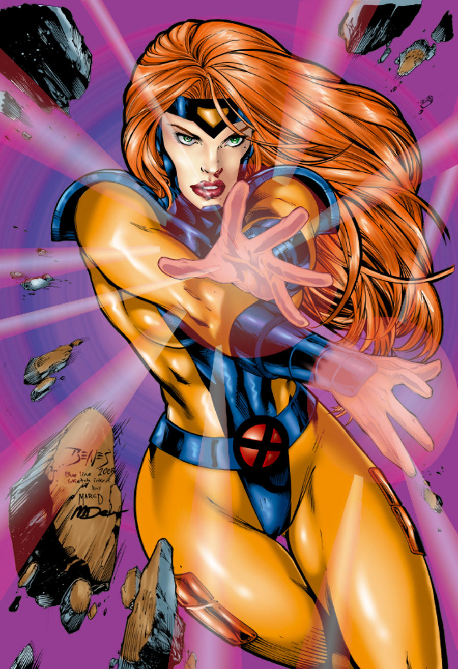 Jean Grey by Ed Benes color by tony058