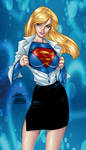 supergirl by j.scott campbell