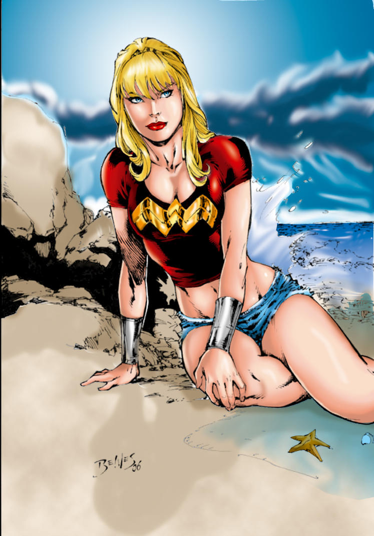 wondergirl by Ed Benes by tony058