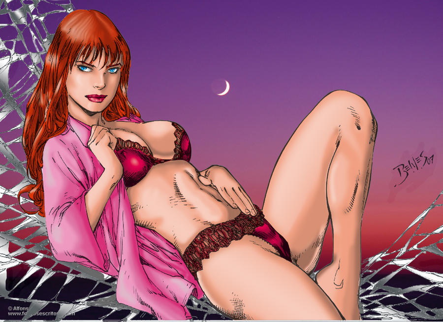 mary jane by Ed Benes by tony058