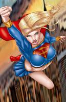 supergirl by Jon Hughes by tony058