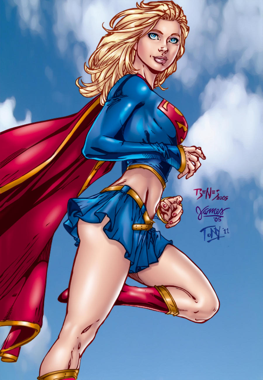 Supergirl by Benes and Killerb by tony058
