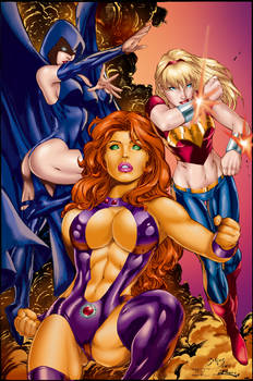 Titans Girls by Ed Benes