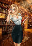 Alice The Librarian  by J.Scott Campbell