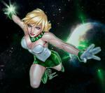 Arisia Green Lantern By Randy Green