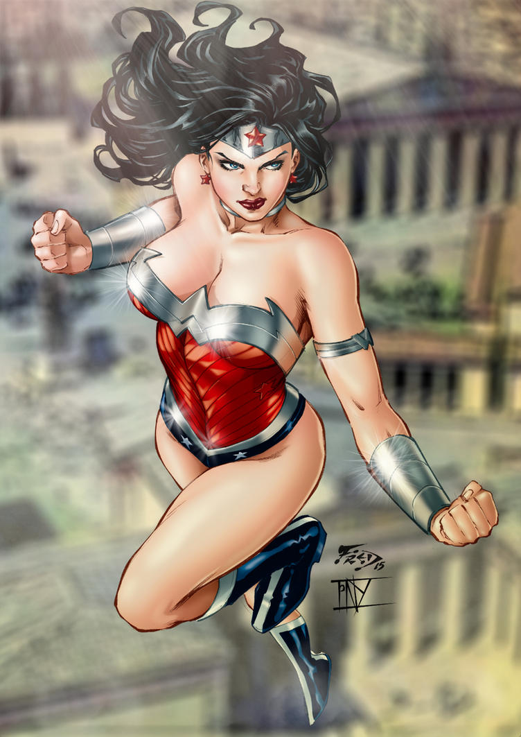 Wonder Woman New 52 By Fred Benes by tony058