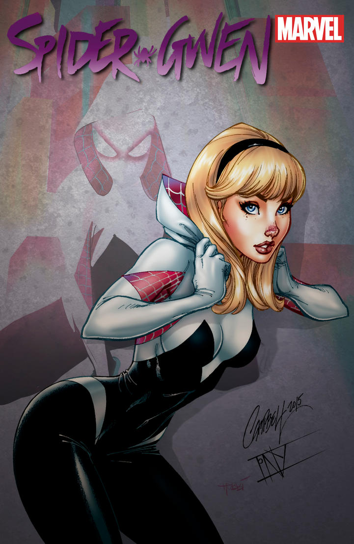 Spider Gwen by J.Scott Campbell by tony058