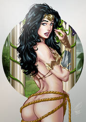 Wonder Woman by Carlos Silva by tony058