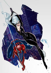 Spider Cat By J.Scott Campbell