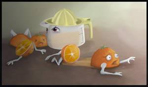 The Plight of Orange by GoEnkidu