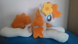 mlp plush-Pear Butter-mlp plushies by Masha05