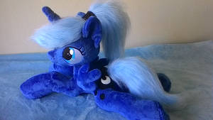 MLP plush-Princess Luna filly by Masha05