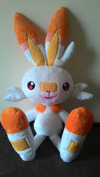 Scorbunny plush by Masha05