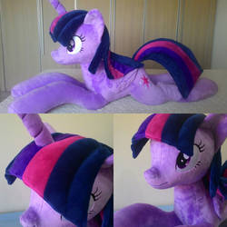 mlp plush-Twilight by Masha05