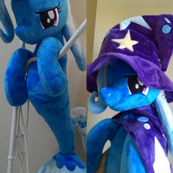mlp plush-Trixie seapony by Masha05