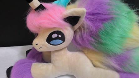 Galarian ponyta plush.