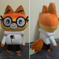 DR. FOX custom plush