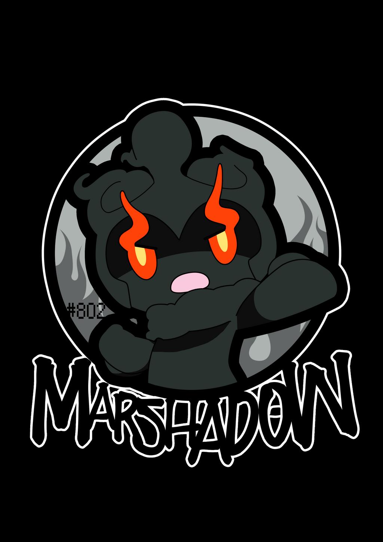 Marshadow 802 By Zxack On Deviantart