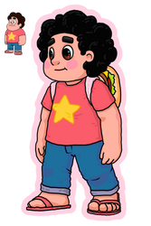 Steven Universe Re-Draw! by MiguelAlt