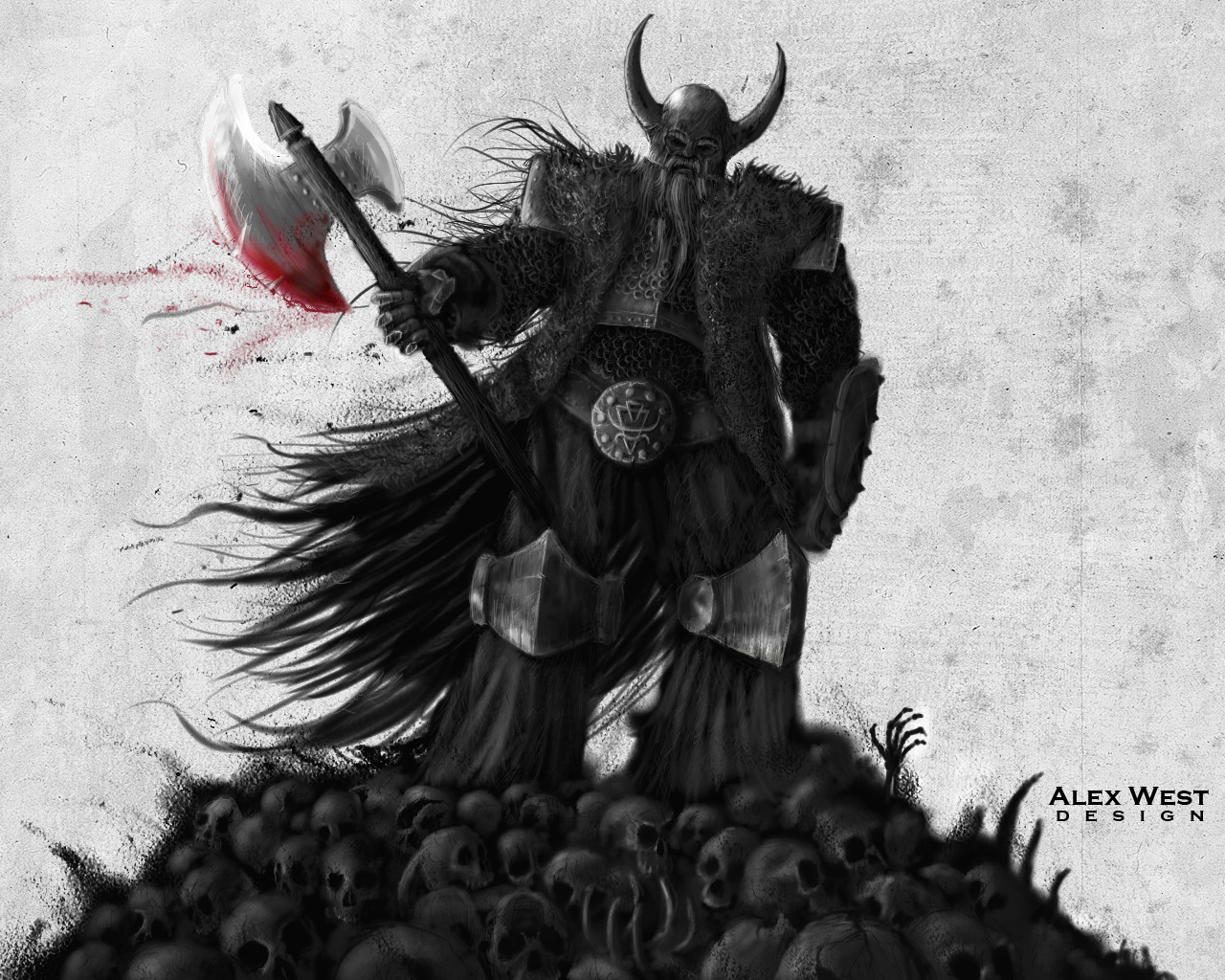 Viking Dude by holoc4ust