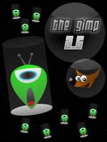 Gimp Alien Splash Screen by josephbc
