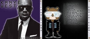 Kanye West Cd Cover by josephbc