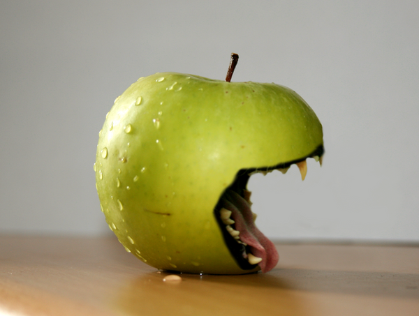 Scary Apple by josephbc