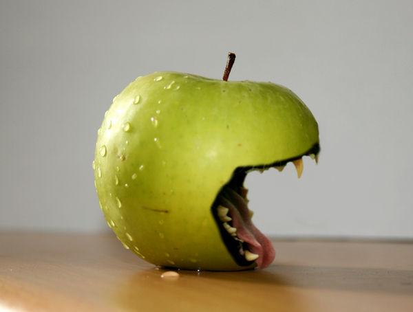 Scary Apple by josephbc
