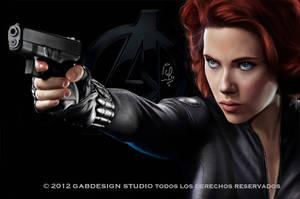 Natasha Romanoff by gabfig