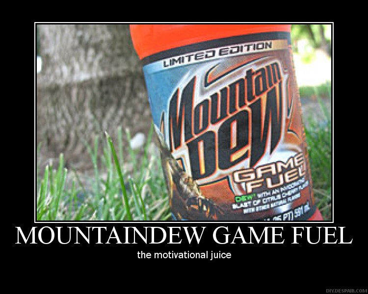 Mountain Dew Game Fuel by leon-the-wolf