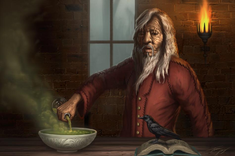 Warlock by RavenseyeTravisLacey