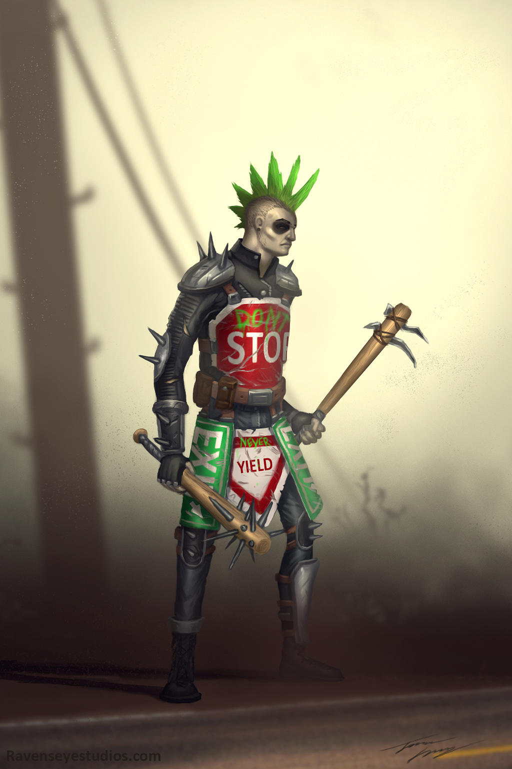 Road warrior by RavenseyeTravisLacey