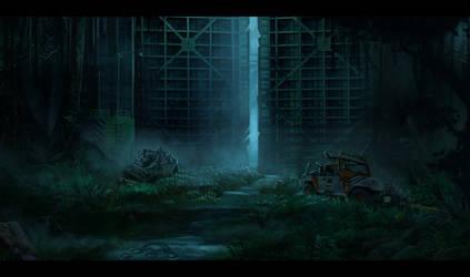 Jurassic park: The gate