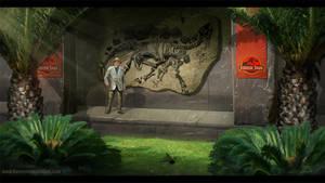 Jurassic Park Dr.Hammond Travis Lacey web by RavenseyeTravisLacey