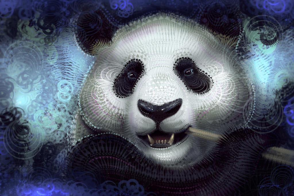 Solar Panda by RavenseyeTravisLacey