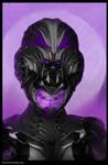 female sci fi Helmate Travis Lacey