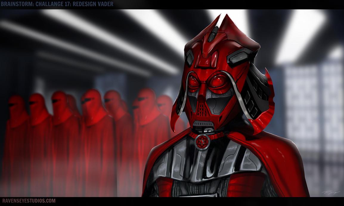 Vader redesign by RavenseyeTravisLacey